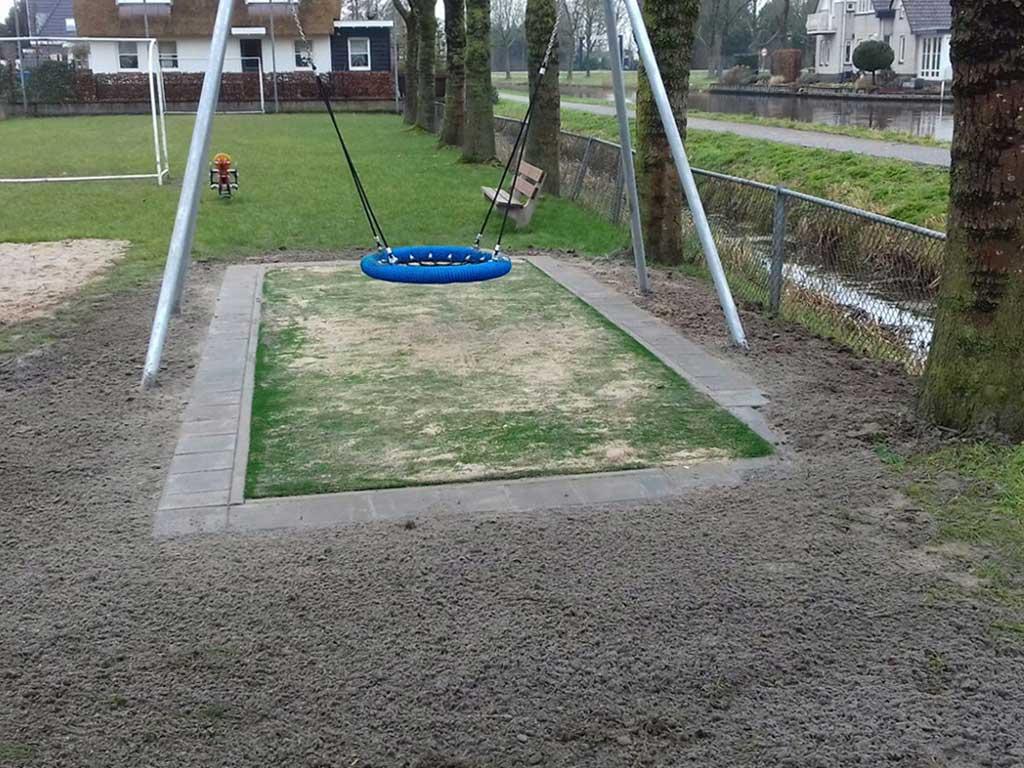 openbare speelruimte aanleg